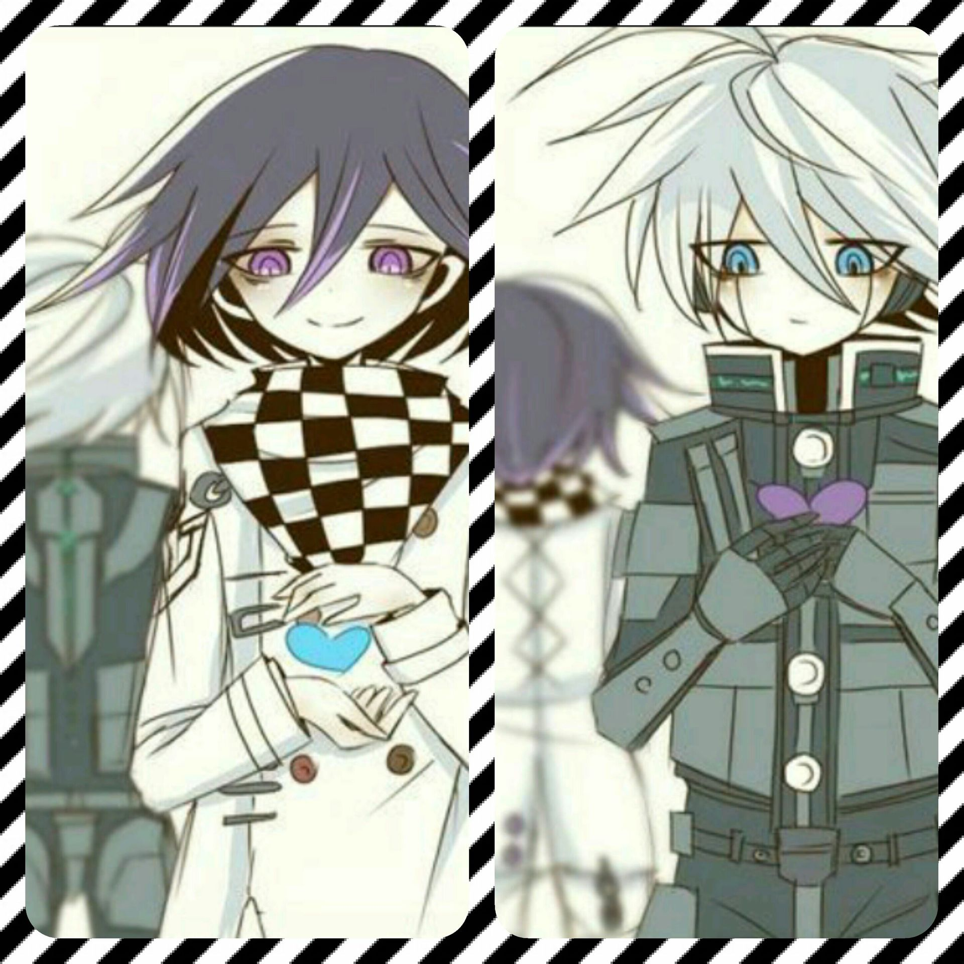Danganronpa One-Shots - Kiibo x Kokichi:My heart belongs you