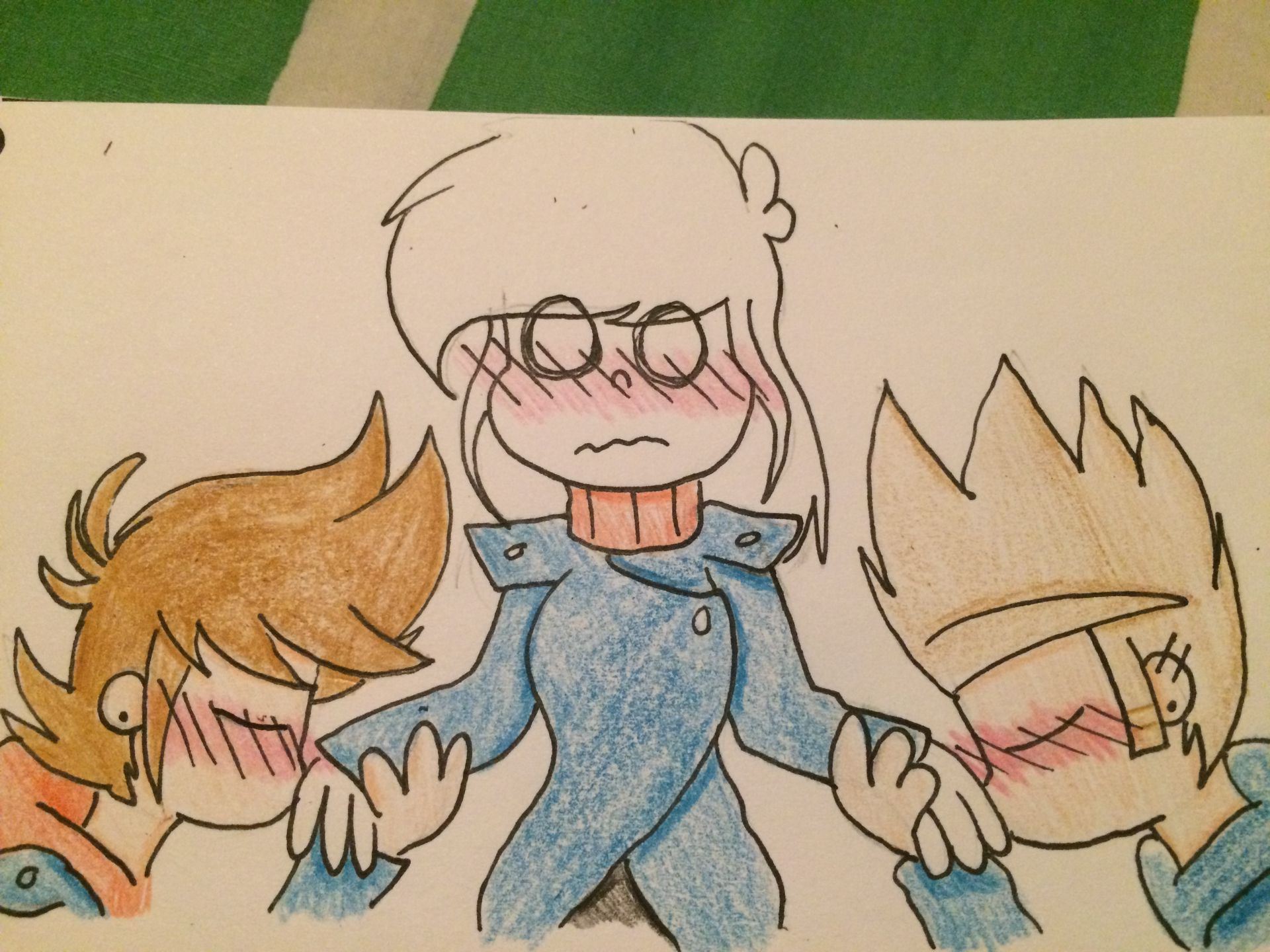Eddsworld x Reader Oneshots - Tord(Red Leader) x Reader x Tom ~Ankle