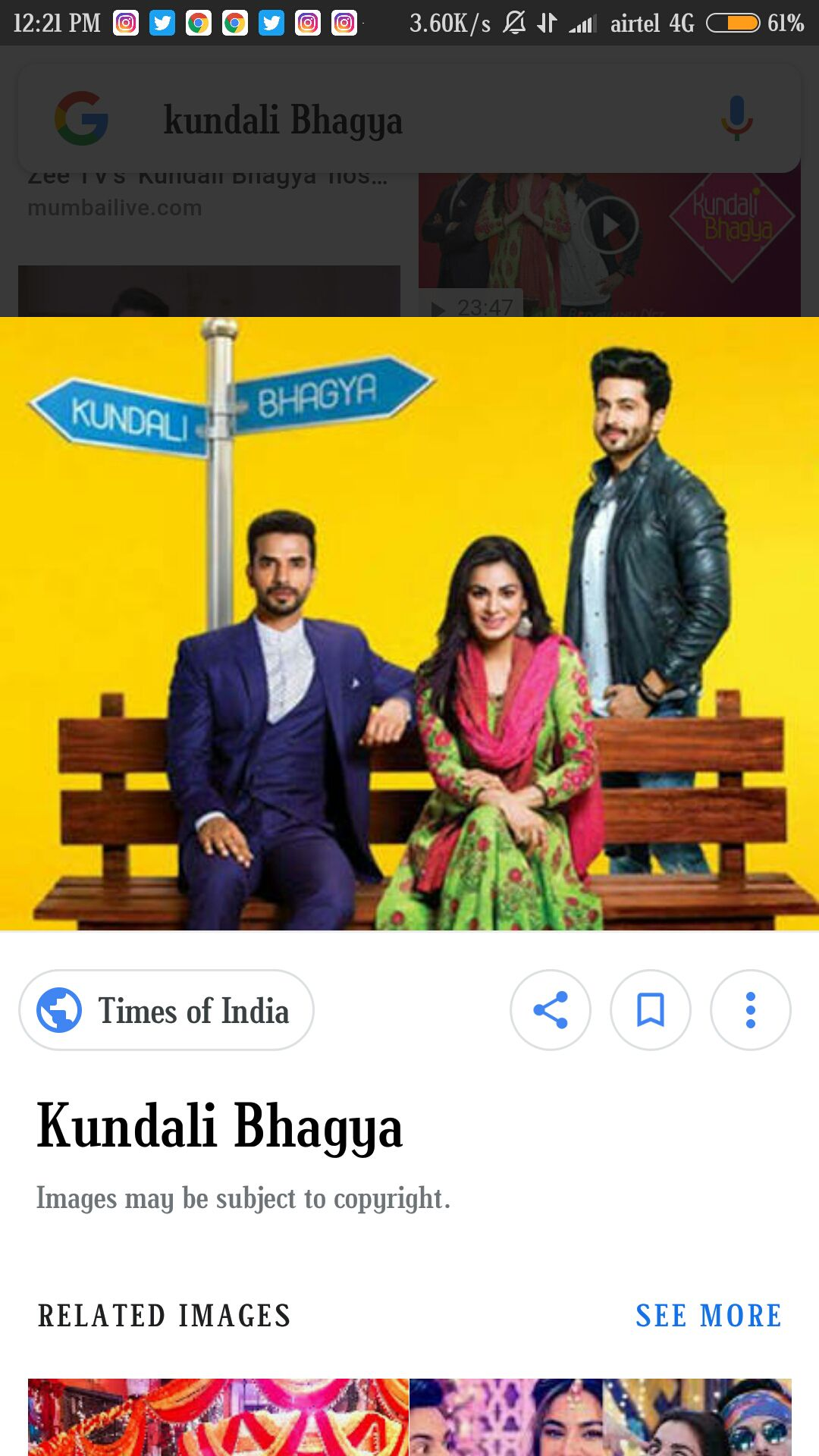Kundali Bhagya : the fate in our stars - Kundali Bhagya : 1