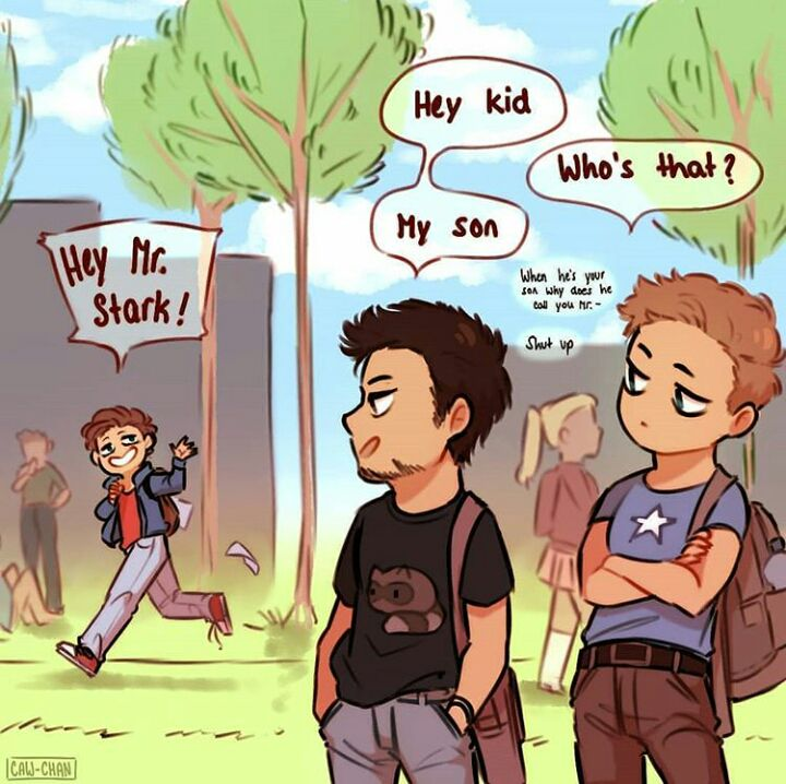 PETER PARKER'S FIELD TRIP ONESHOT - Peter Parker is awesome