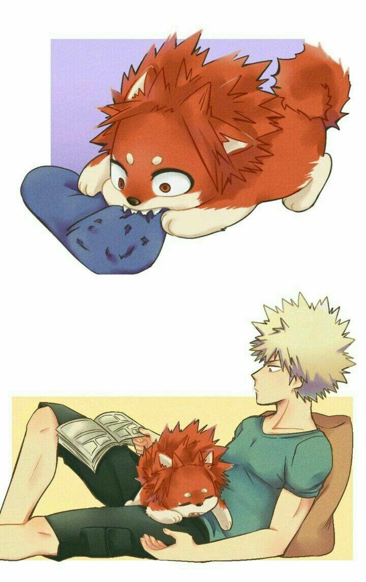 My Hero Academia x Readers - Sleepless: Werewolf Kirishima x Reader