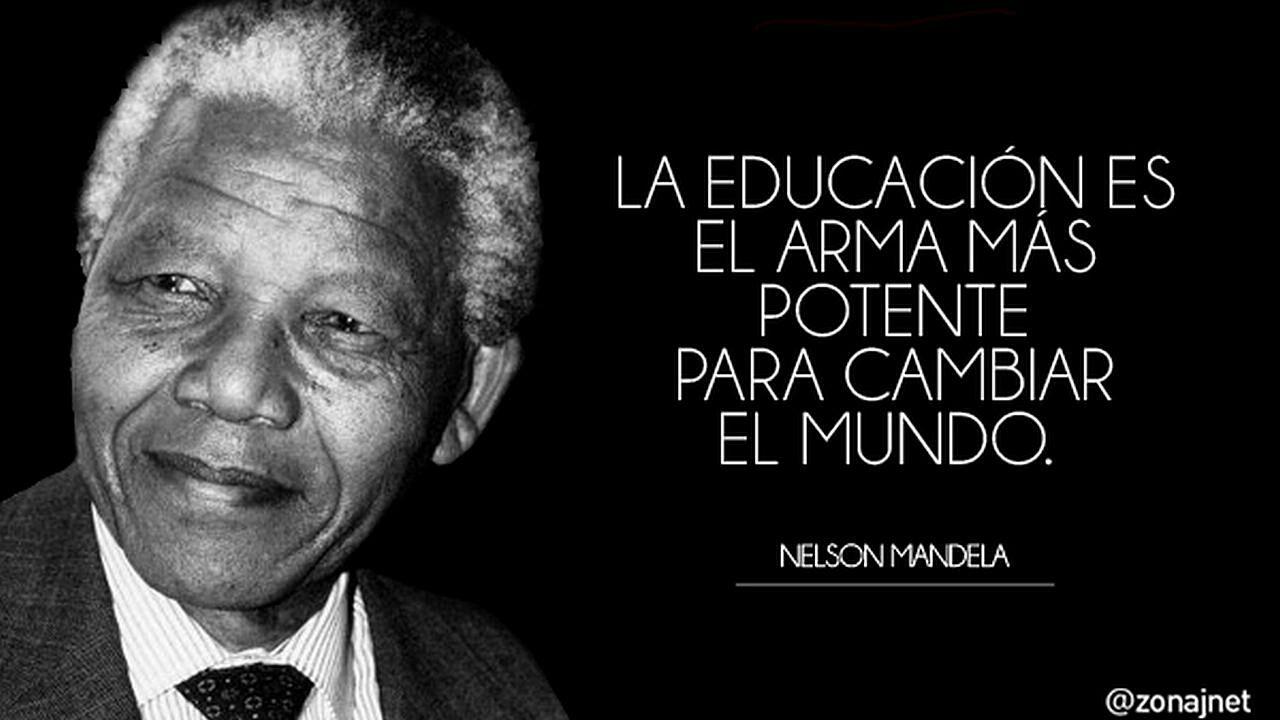Frases Frases De Nelson Mandela Wattpad