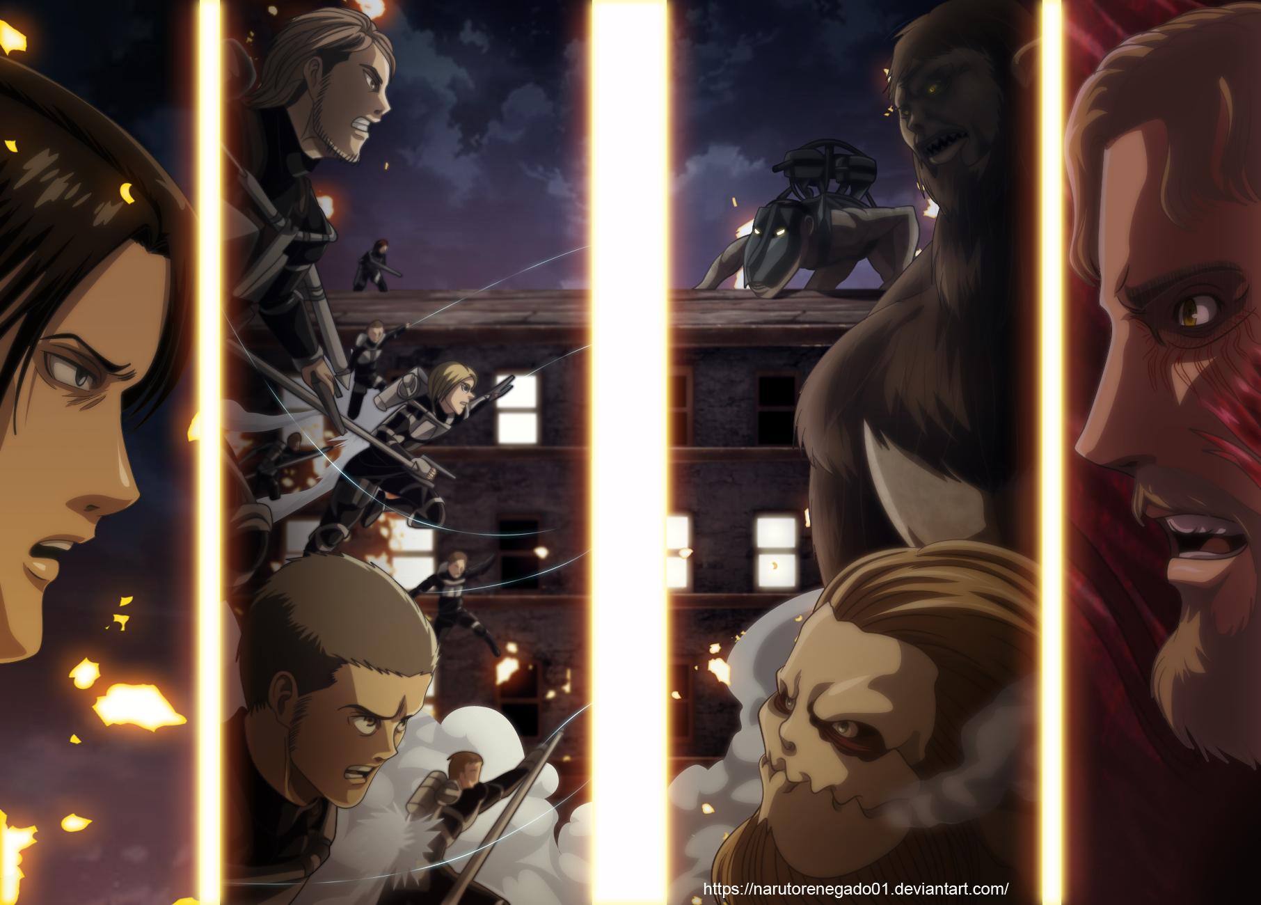 Attack On Titan Reiner Braun Capítulo 44 La