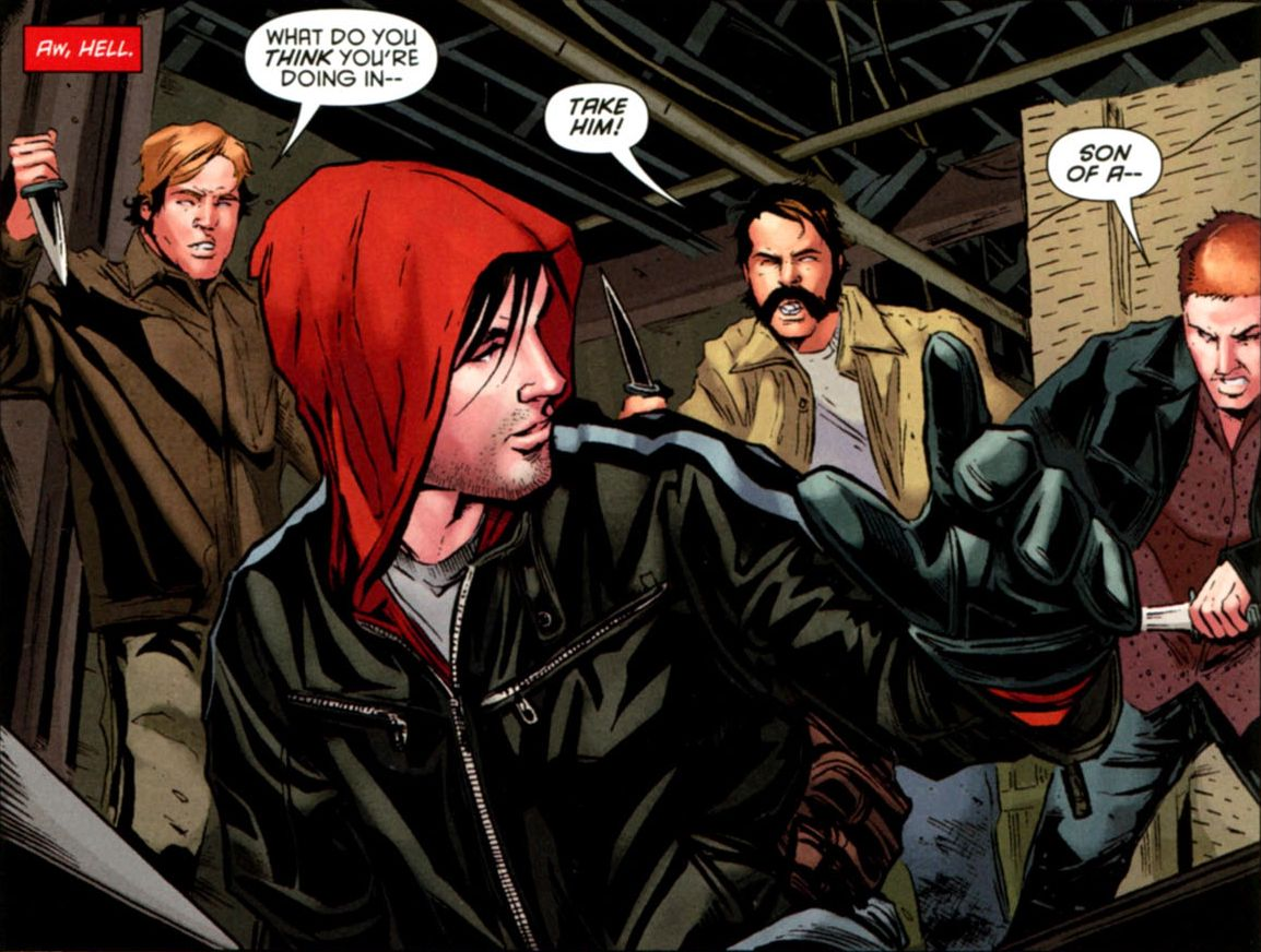 Red Hood Rose And The Blade Red Hood And Ravager Chapter 10