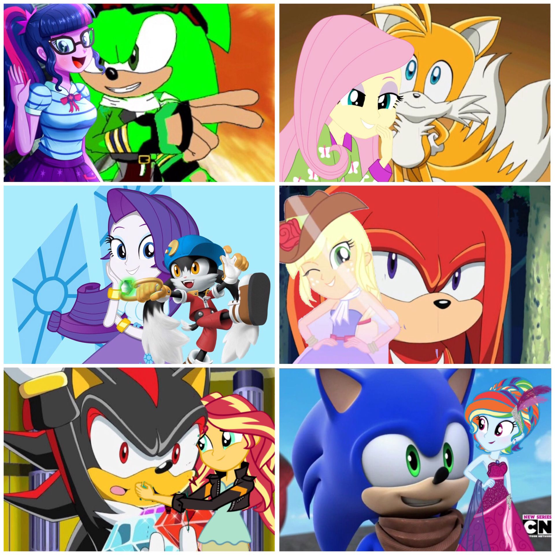 Sonic X: Mobian Heroes And Equestria Girls