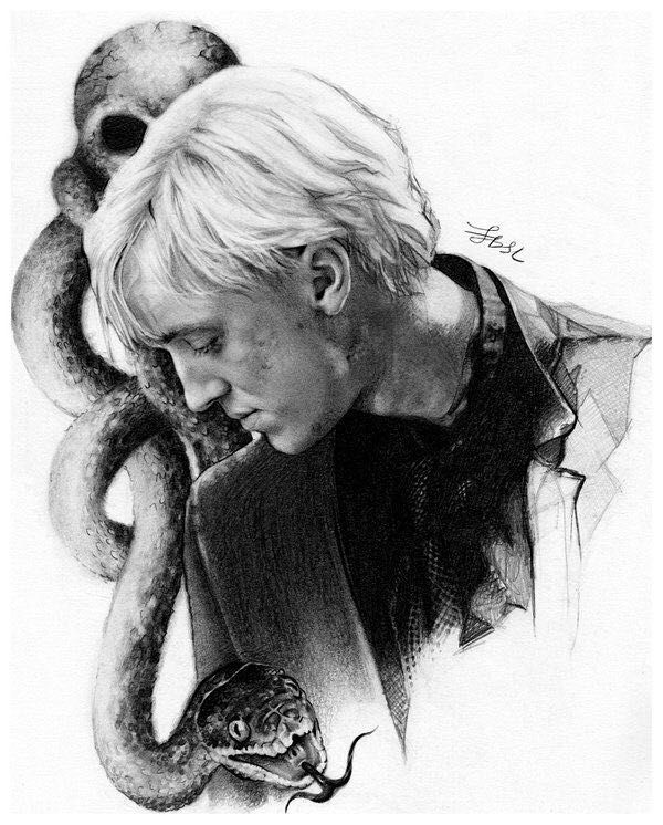 Potions Class   Draco Malfoy x Reader x Severus Snape  - Filrty