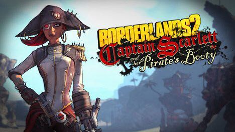Son of Handsome Jack - Captain Scarlett and her pirate's