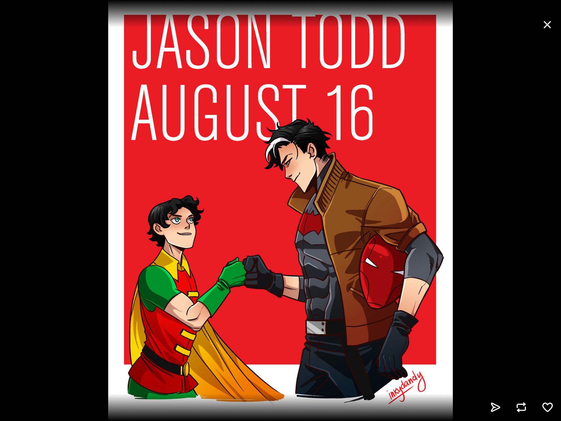 Batboys x Reader - Flowers Part 2 (Jason Todd x Reader