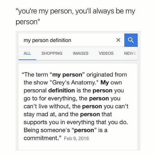 Greys Anatomy Quotes Pictures Youre My Person Wattpad