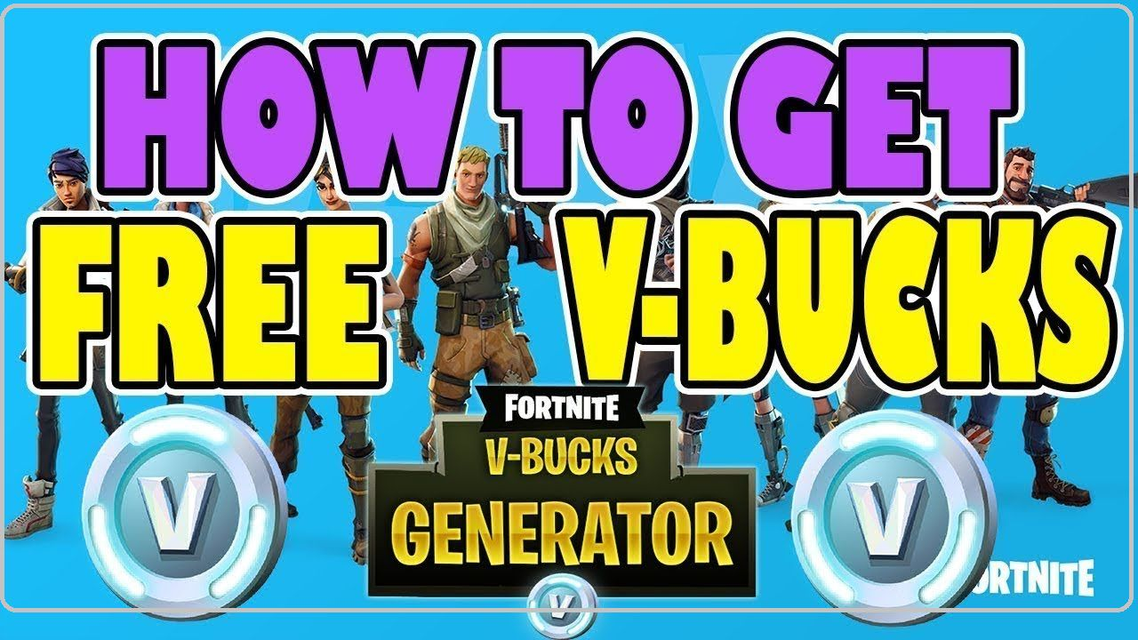 Free V bucks Generator 2019-free v bucks ps4Fortnite v bucks