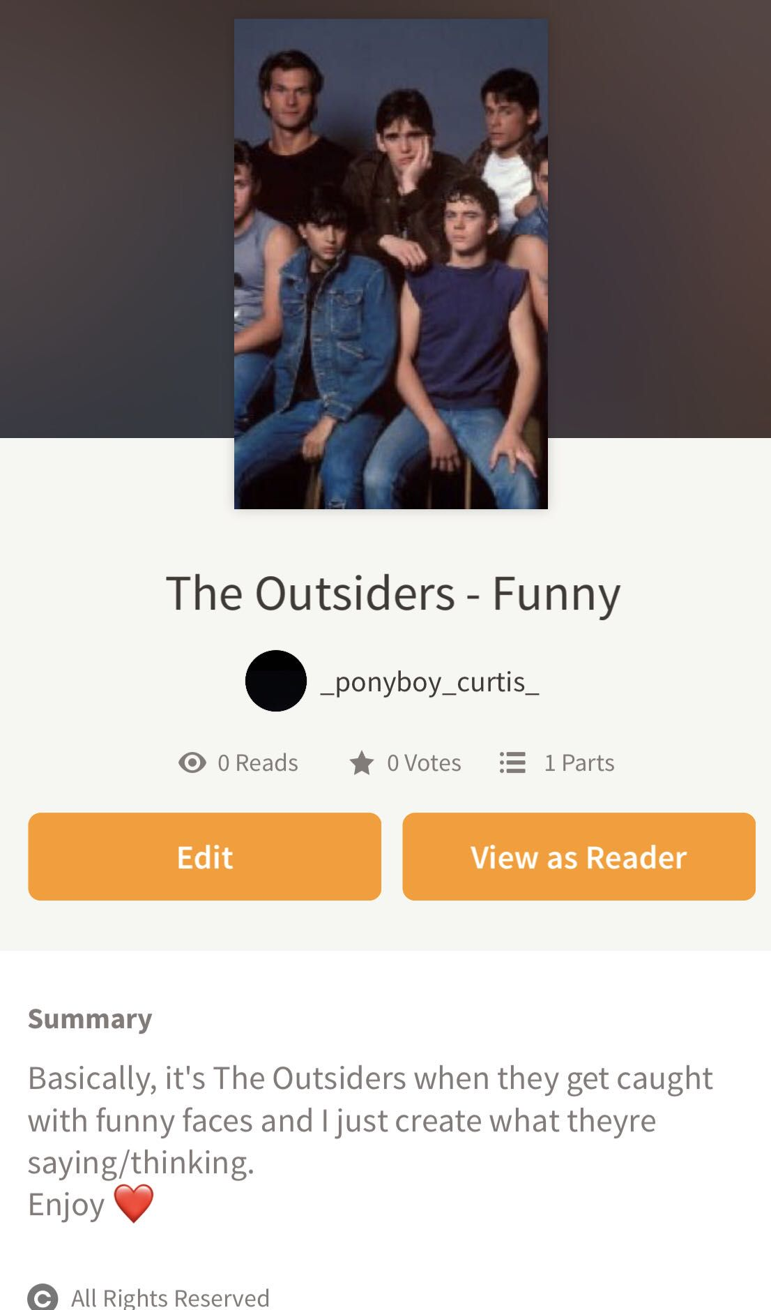 The Outsiders Preferences and Imagines - with the Shepard's
