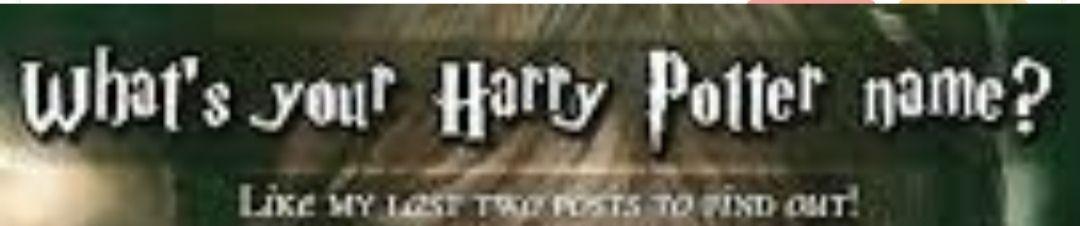 Harry Potter Charakter Namen Mannlich Wattpad