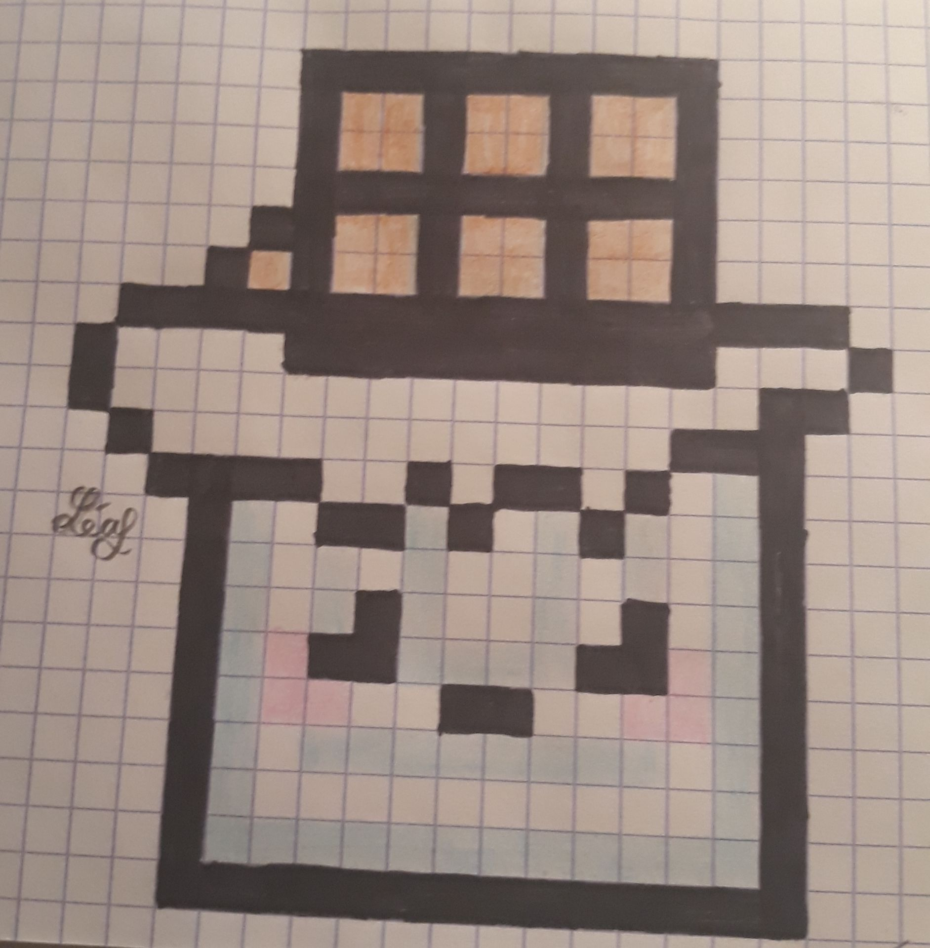Mes Dessins Pixel Art Chocolat Wattpad