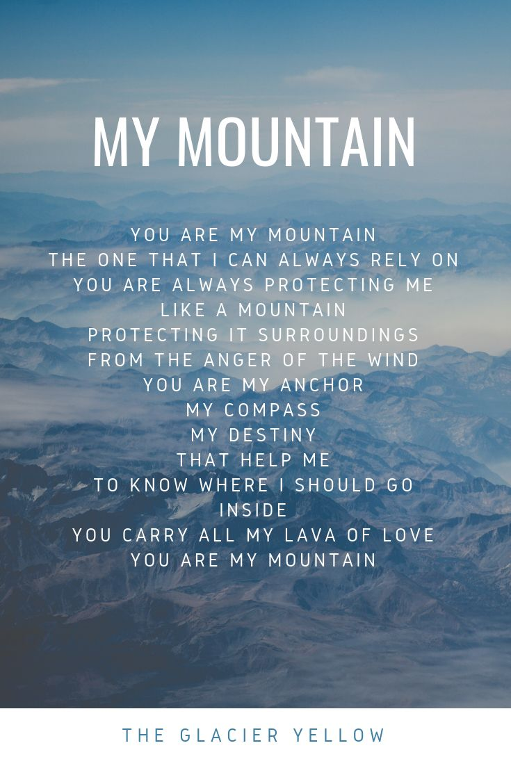 DON'T BE AFRAID OF DARKNESS - You Are My Mountain - Wattpad