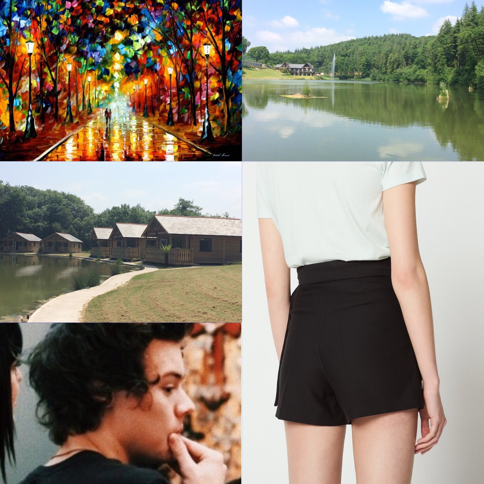 Art Cabin and Louis' Outfit