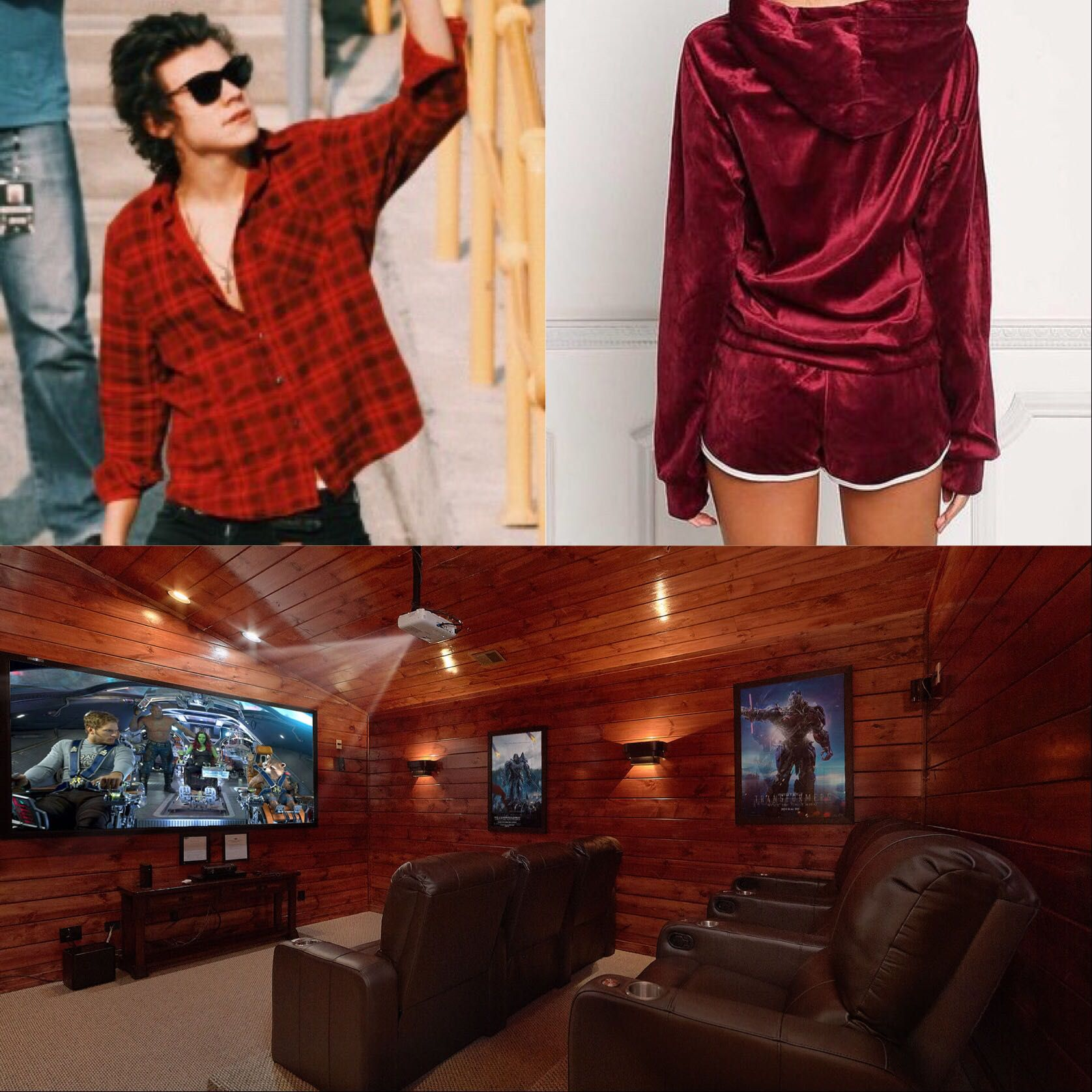 Harry and Louis' Outfit