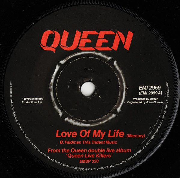 Piano/Flute Notes - Love Of My Life ~ Queen - Wattpad