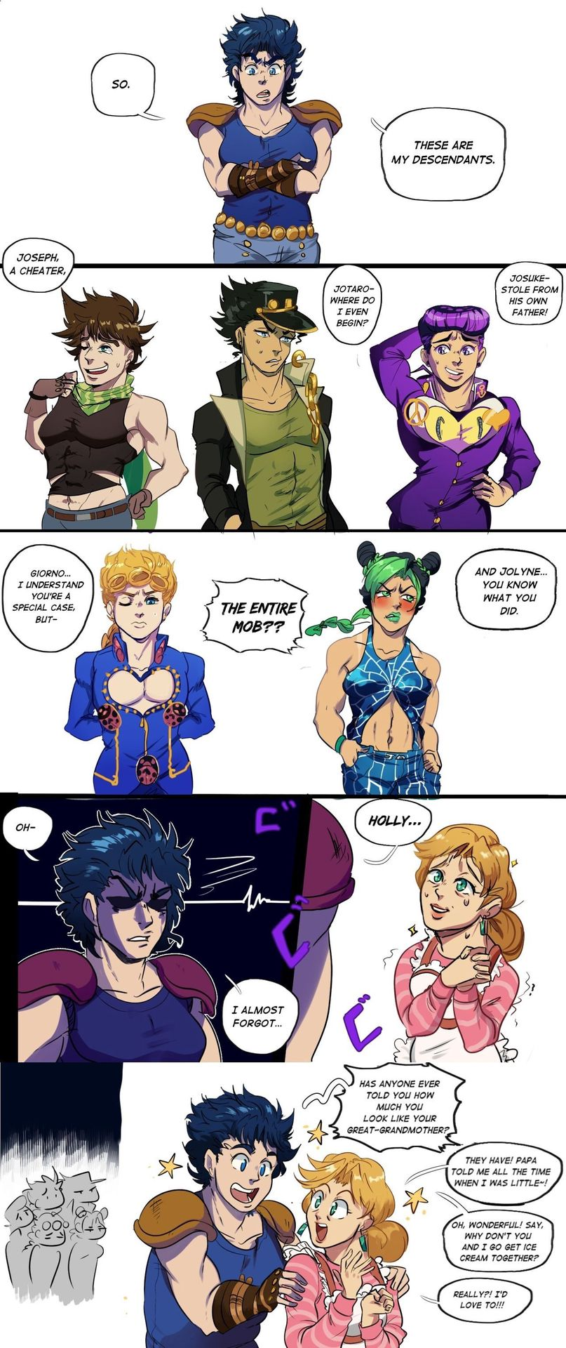 My JoJo Bizarre Adventure OCs & Stands - The JoJo: Jouko