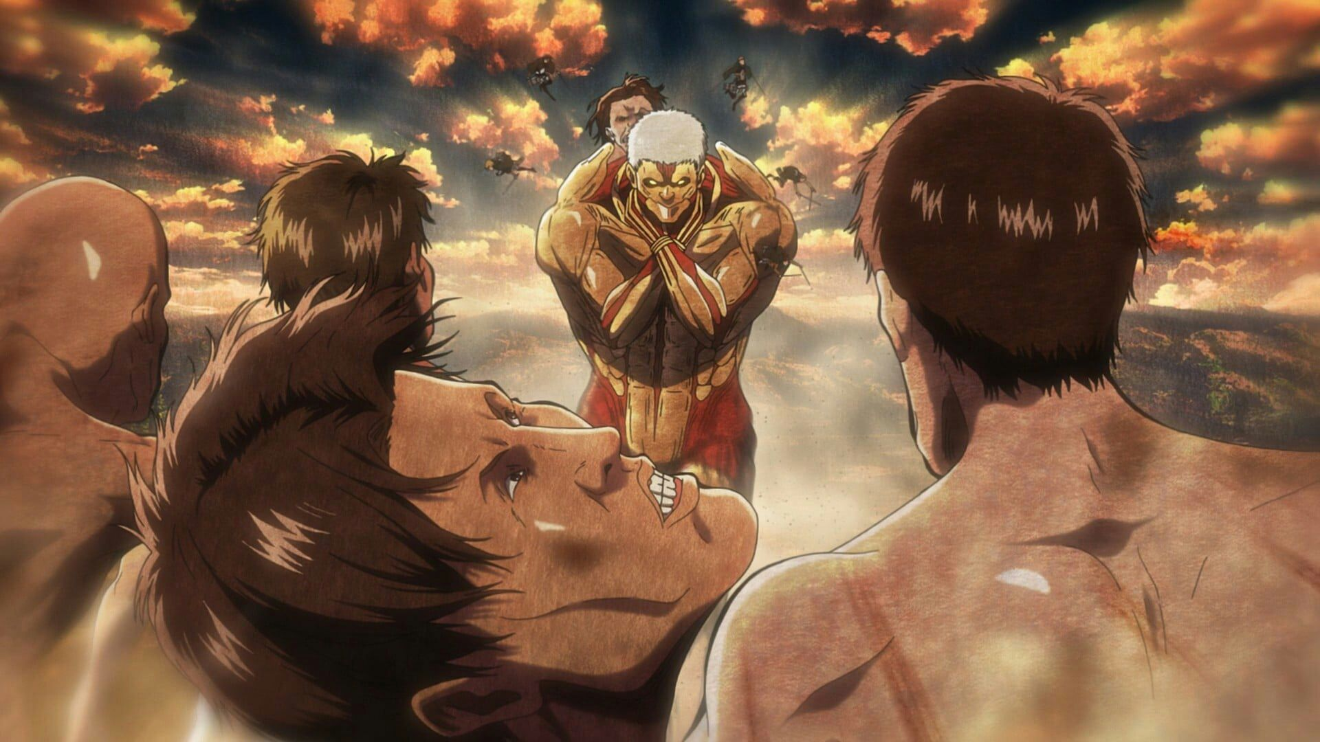 Download 52 Koleksi Wallpaper Bergerak Attack On Titan Paling Keren