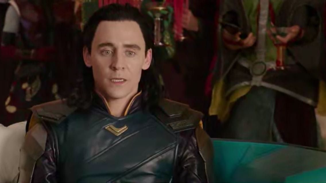 loki & tom Hiddleston fluff to appeal everyone <3 - you