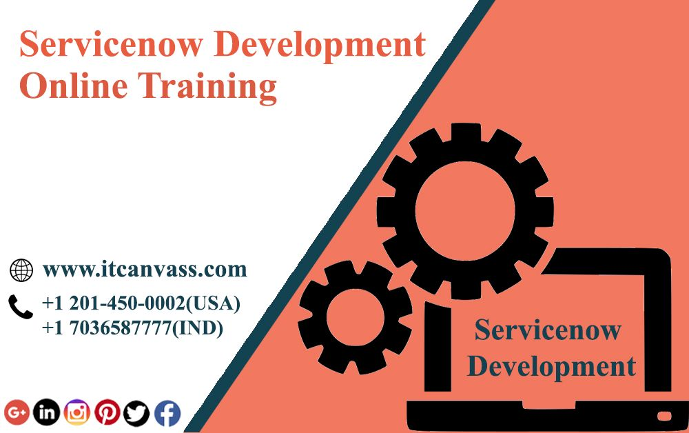 Servicenow scripting training online | IT Canvass