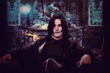 Nephilim Bride   A Severus Snape x Reader Lemon Series - Fireside