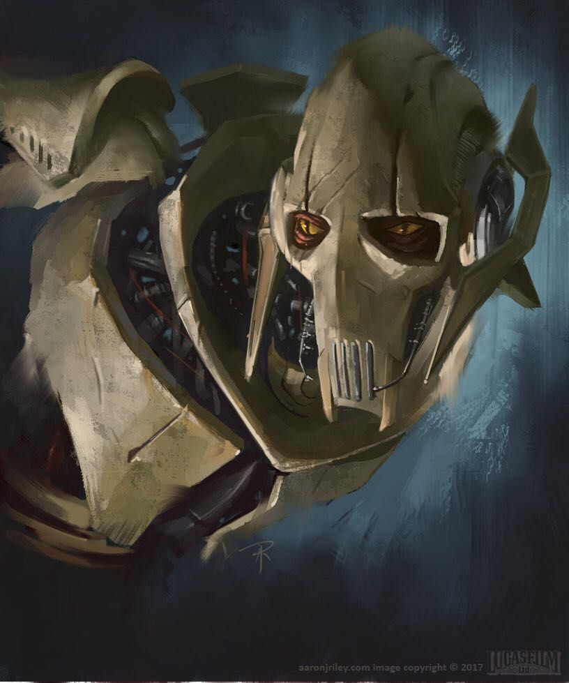 Rage given form- bullied General Grievous male reader VS