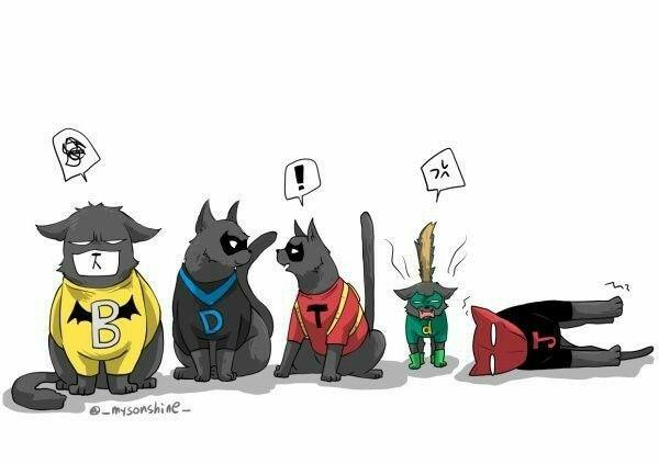 Batboys Headcanons Tumblr