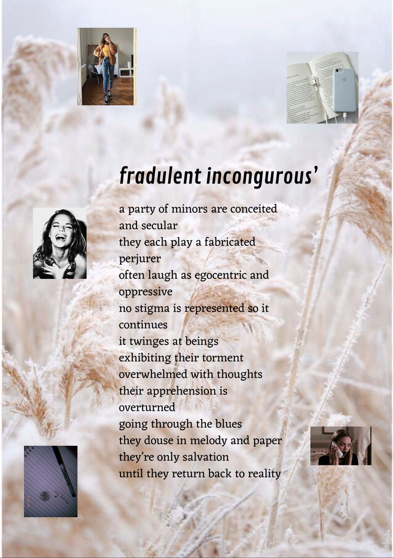 my conjecture - fraudulent incongruous' - Wattpad