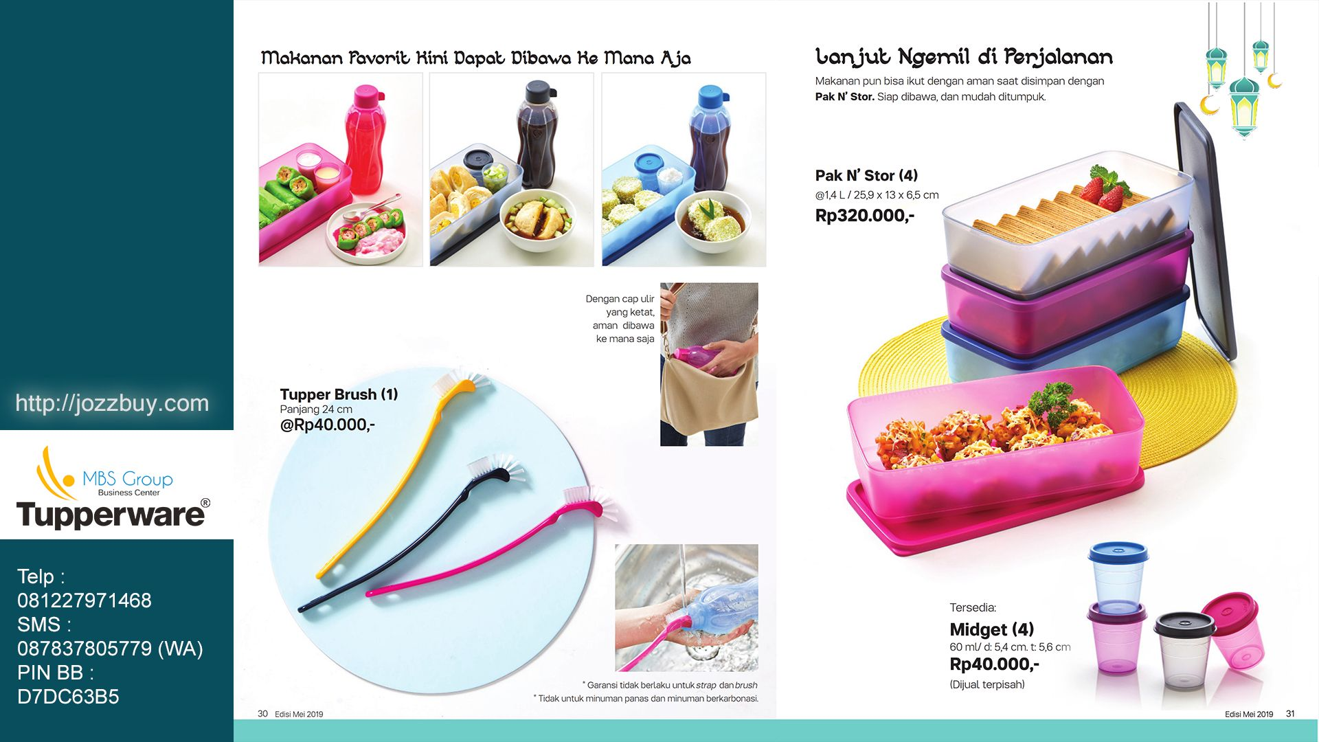 Harga Promo Tupperware September 2019