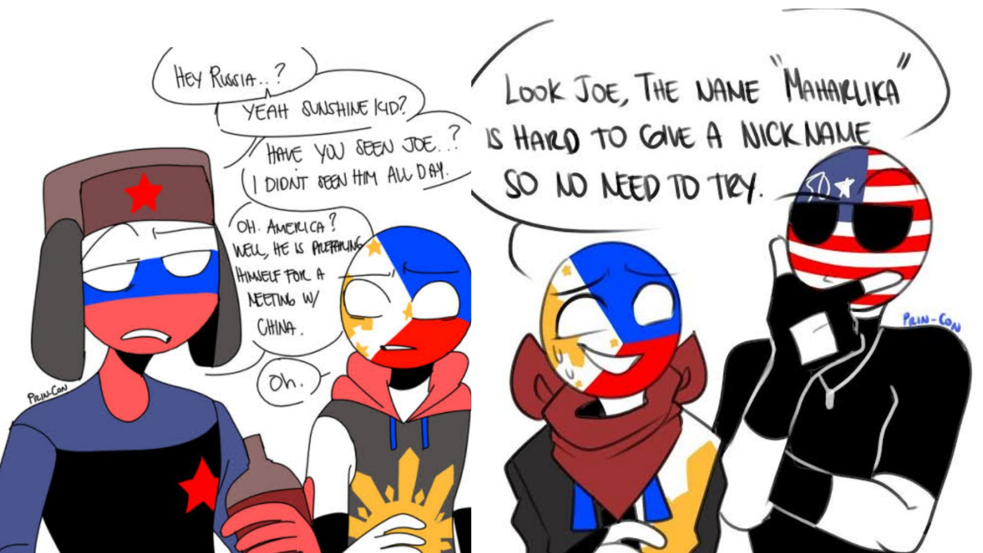 Yaoi One-Shots || CountryHumans - Russia x Philippines x ...