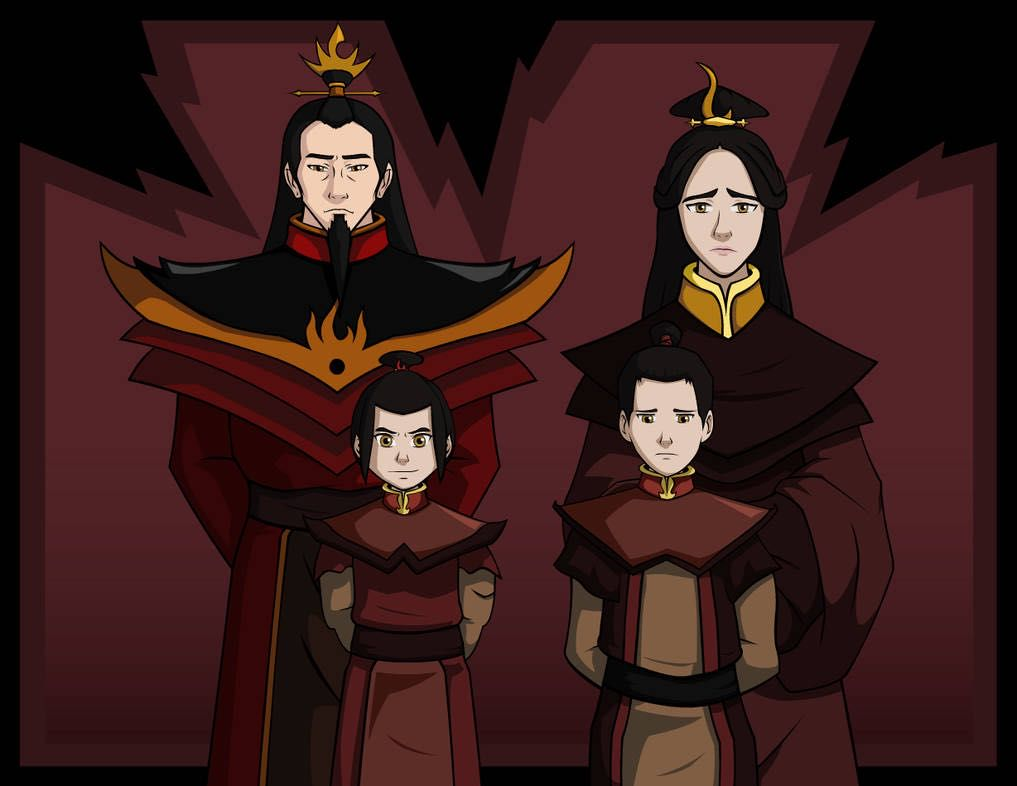 "Avatar Azula Mai Ty Lee avatar: the last airbender, au ""fighting the phoenix"" book 1"