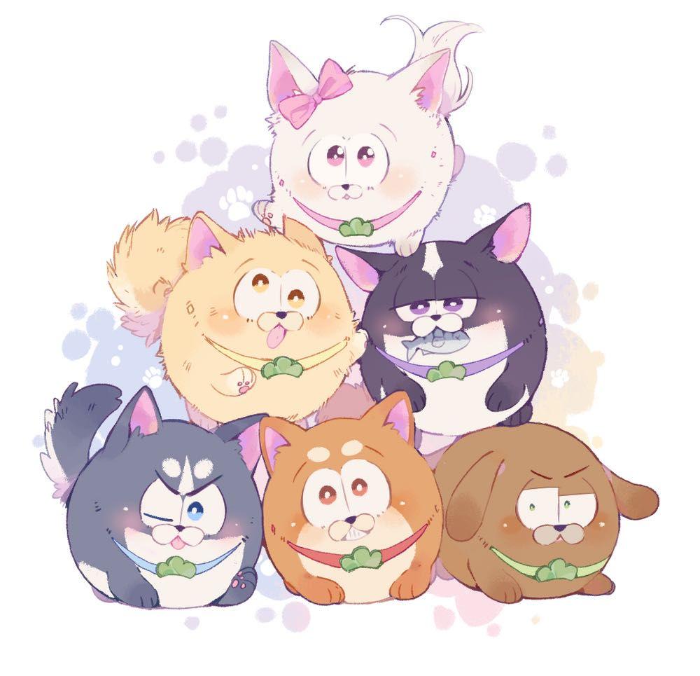 Osomatsu-san Oneshots - Heat: Osomatsu 🍋(Dog! Matsu Bros x Cat