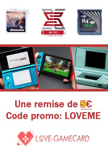 SX Pro France - Which is the best 3DS flashcard for playing DS games
