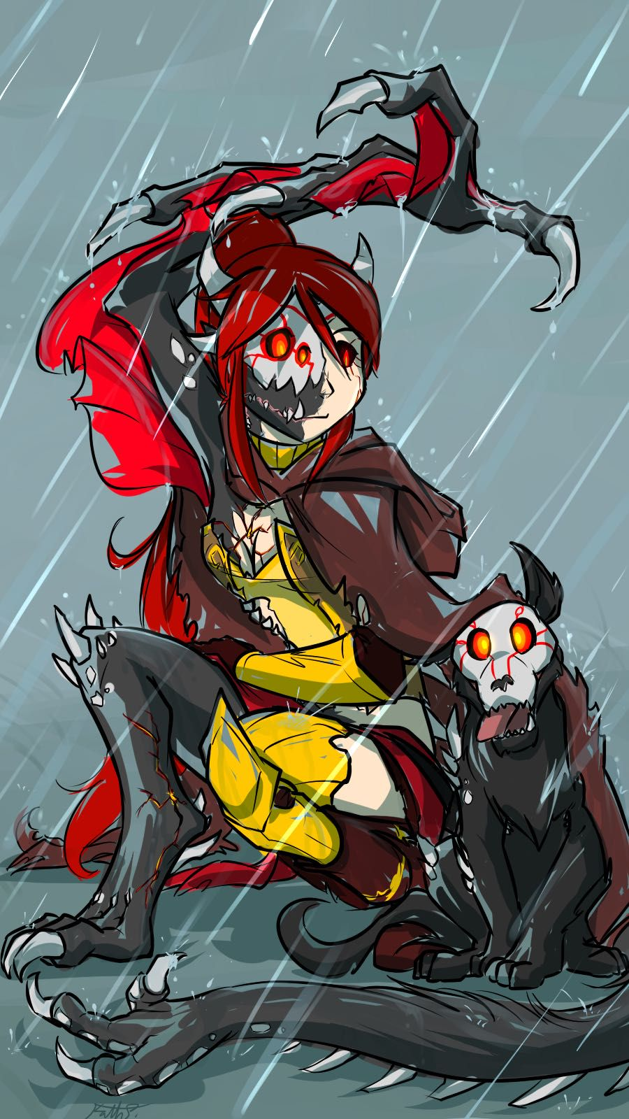 The Grim (Grimm!Reader X RWBY Harem) - Day 18: End Of The Beginning