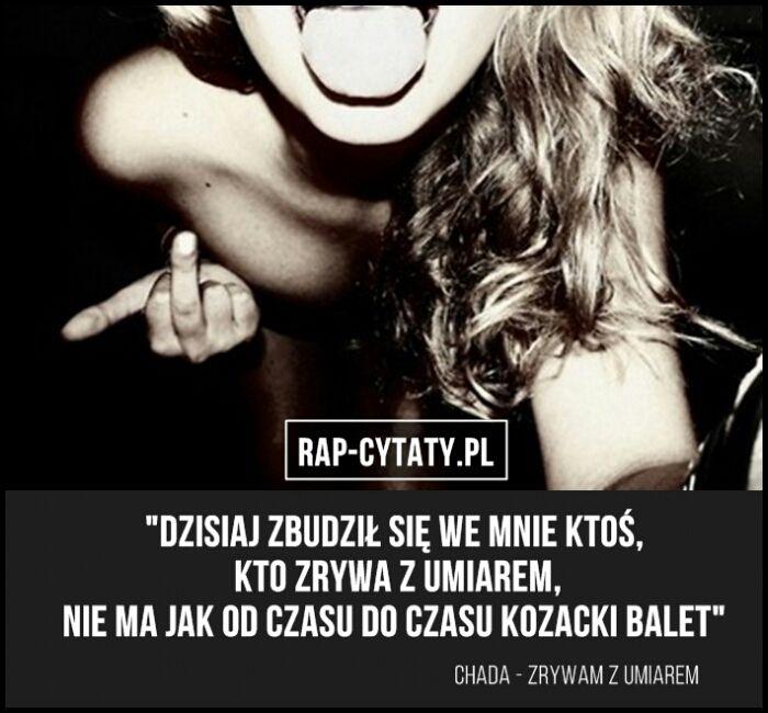 Cytaty Rap 189 Wattpad