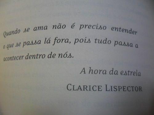 Frases Poéticas Clarice Lispector Wattpad
