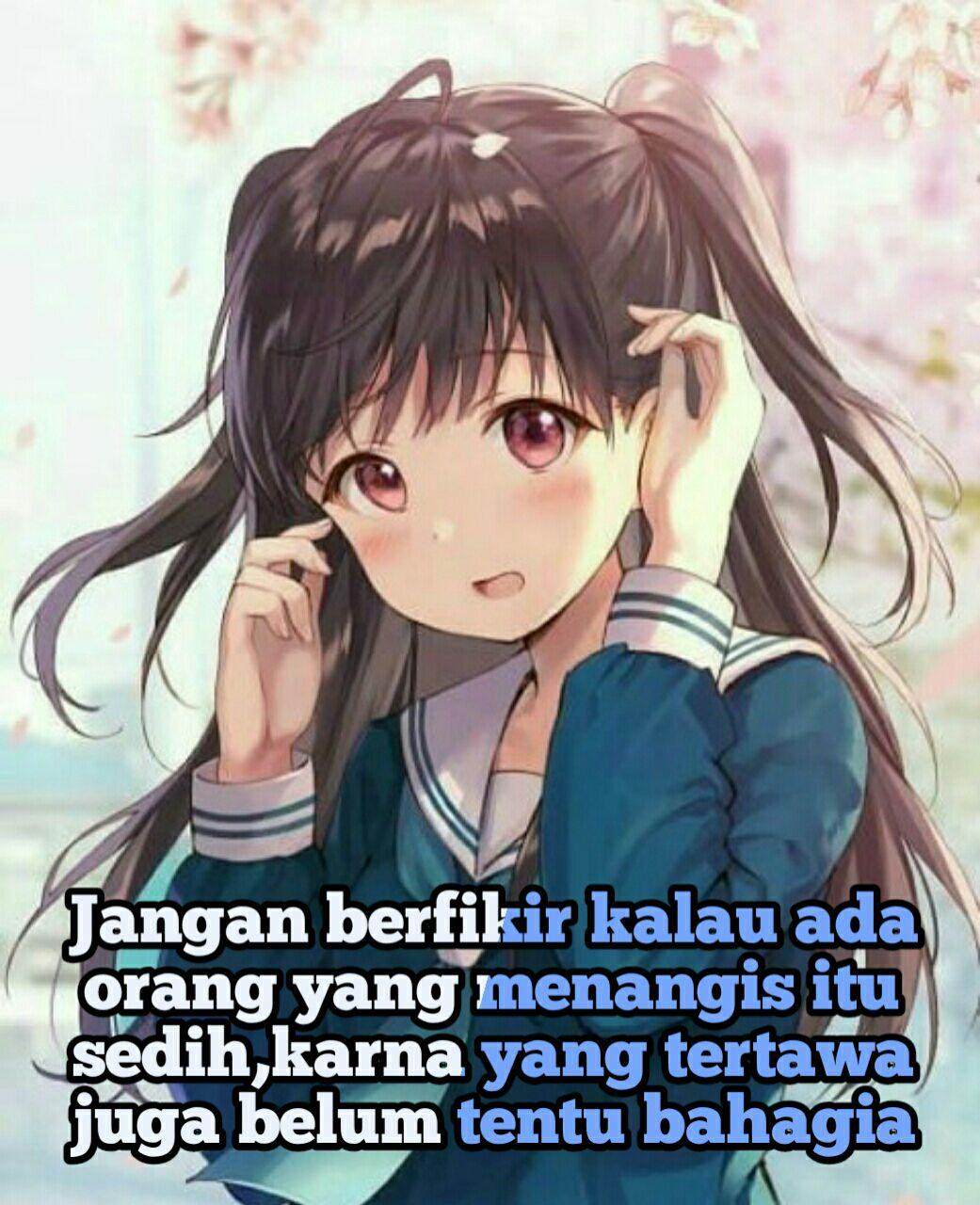 Gambar Quotes Anime Sedih Anime Wallpapers