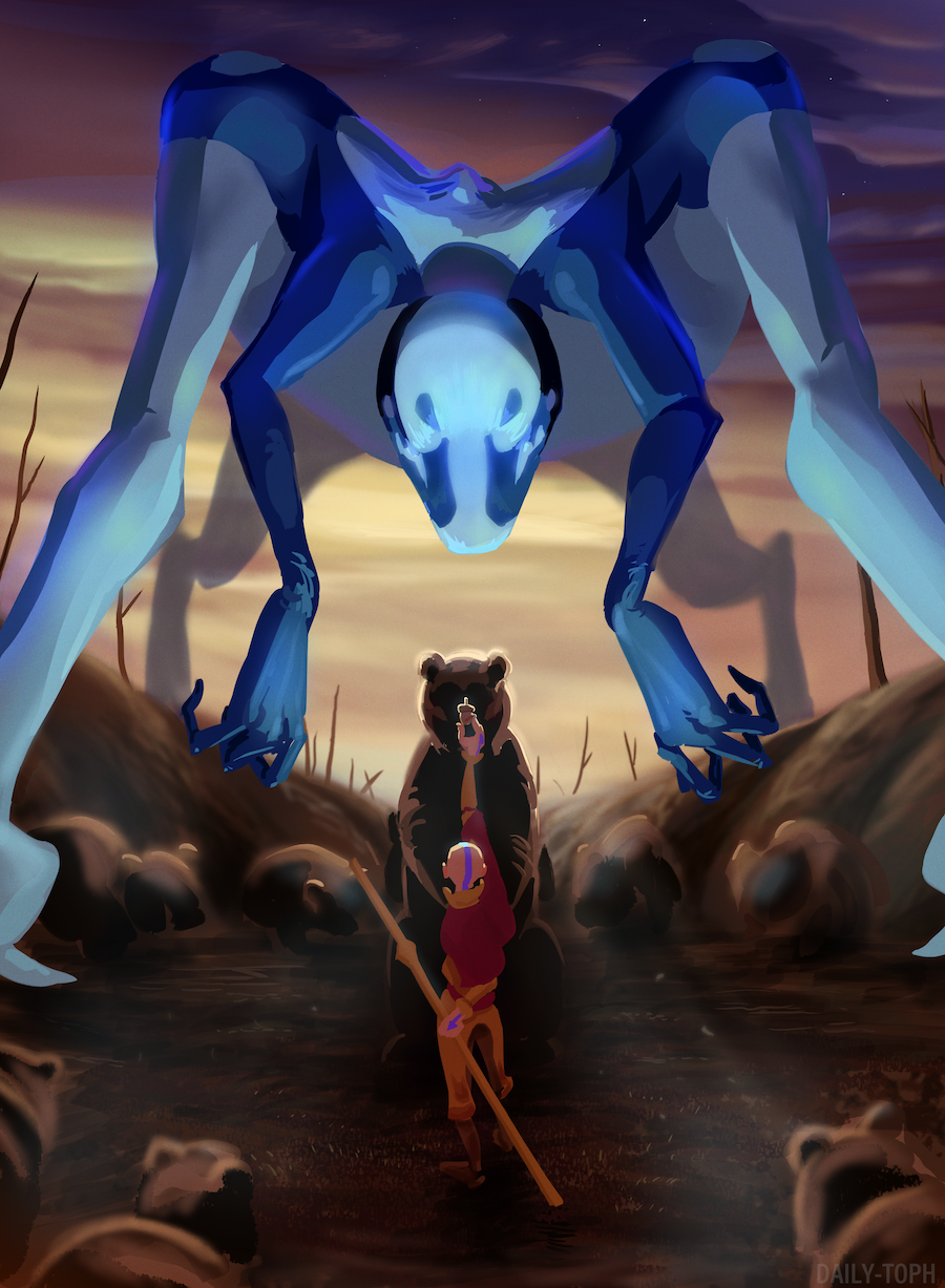 the avatar's kindred spirit aang x reader  chapter 9