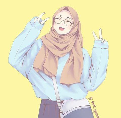 460 Koleksi Gambar Kartun Islami Hijrah HD Terbaik