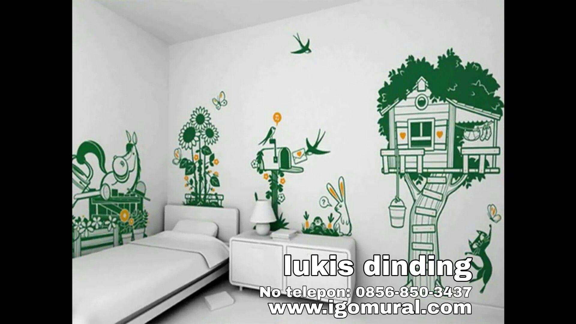 Jasa Mural Dinding Rumah Telp 0856 850 3437 IGO Mural