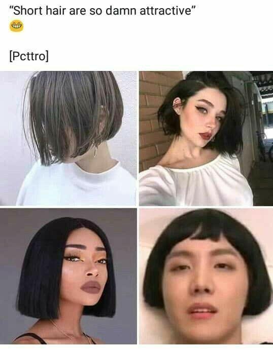 Kpop Memes Short Hair Wattpad