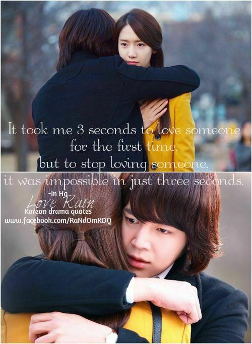 Best Korean Drama Quotes Love Rain Wattpad