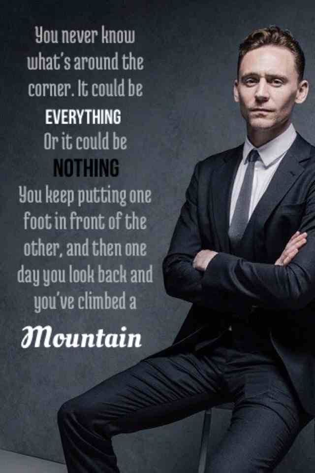 tom hiddleston quotes quotesgram