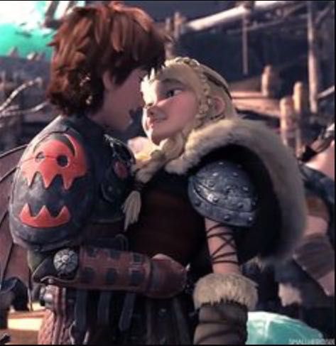 How To Train Your Dragon Astrid And Hiccup Get Married
