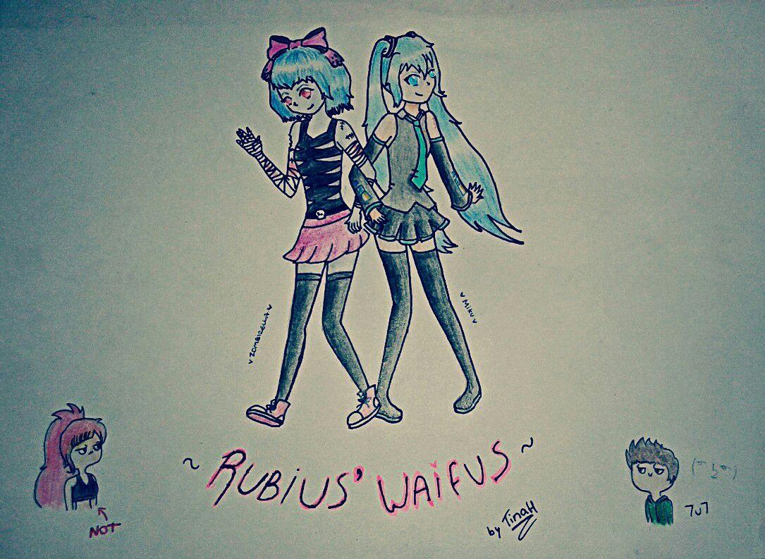 Mis dibujos zombirella amp hatsune miku wattpad