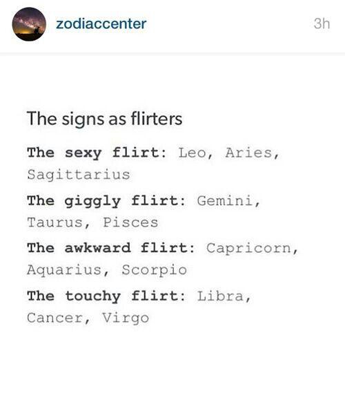 text flirting signs