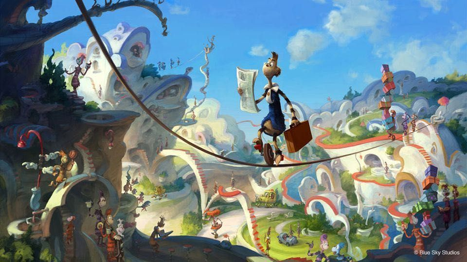 big stupid theory about the animated drseuss movies