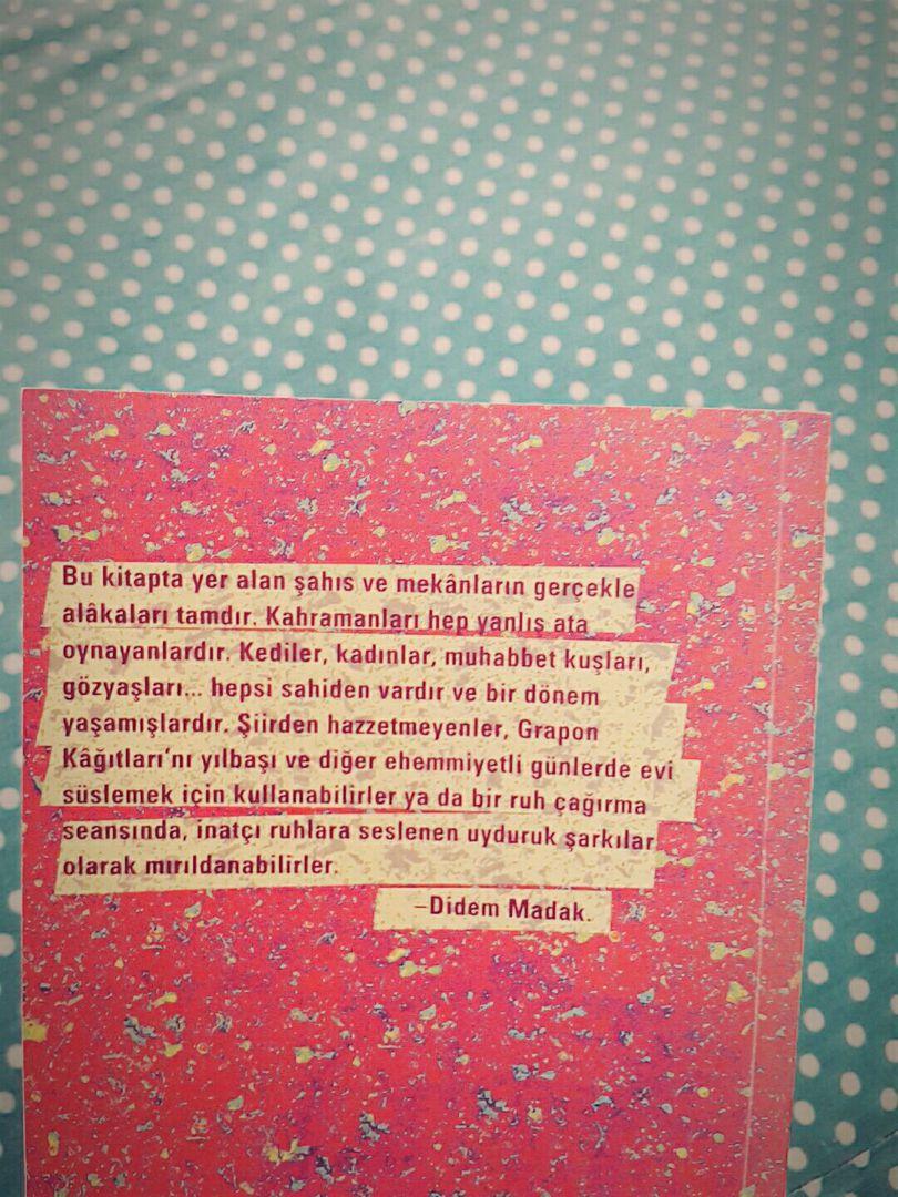 Songbookfilm 3 Didem Madak Grapon Kağıtları Wattpad