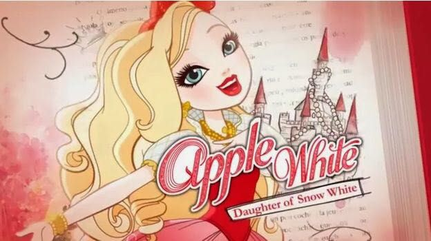 Ever after high secret storybooks royal intro apple white page 1